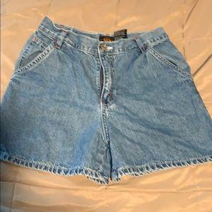 Route 66 vintage jean shorts